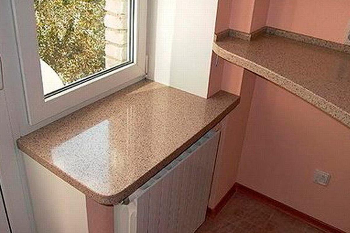 Столешница для куханного балконного блока.